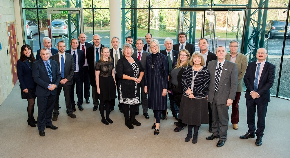 Business Minister Margot James MP meets Worcestershire's world class businesses at Malvern Hills Science Park