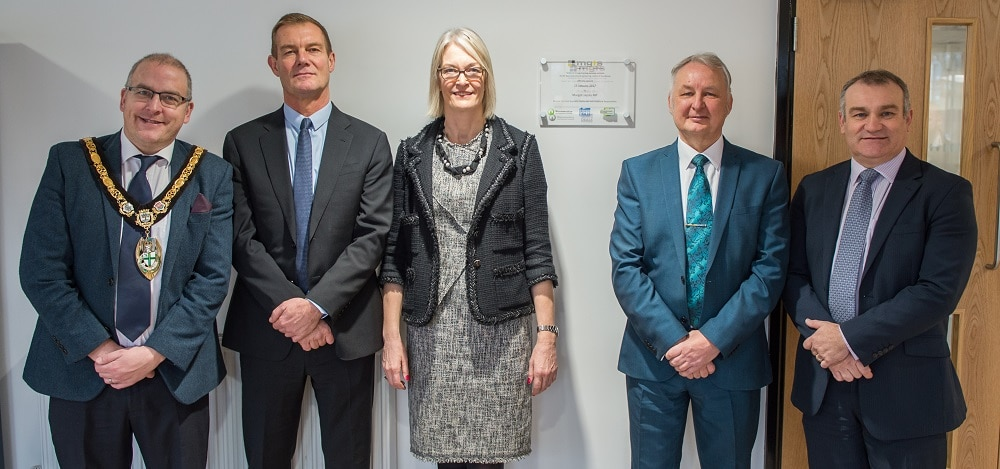 Business Minister Margot James MP opens new North Worcestershire Engineering Centre of Excellence in Redditch