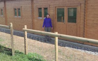 New outdoor classroom for farm thanks to grant