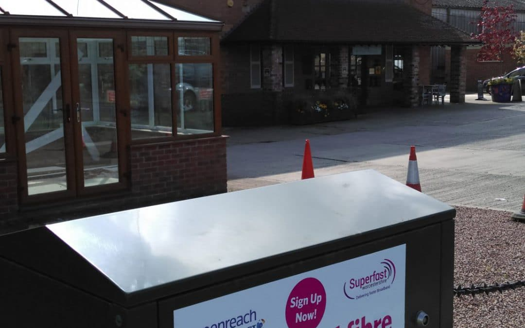 Superfast Broadband Available to Blackminster Business Park