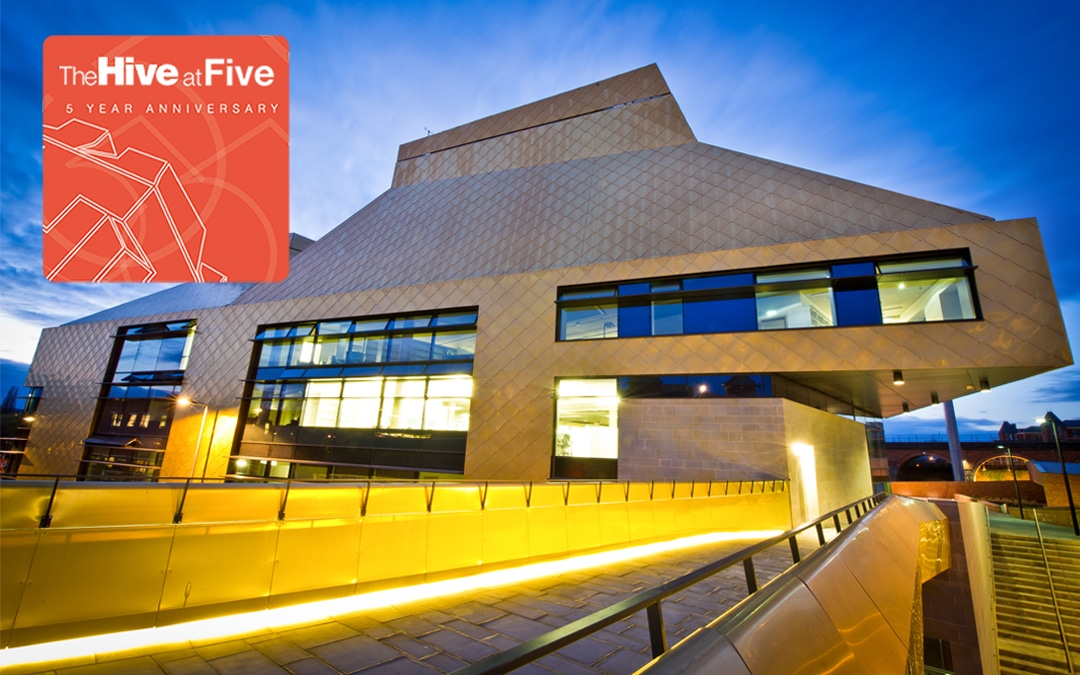 Be a part of the Hive's 5th Anniversary celebrations