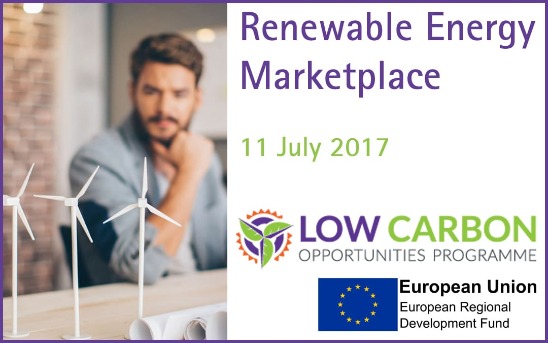 Low Carbon Opportunities Programme – Renewable Energy Marketplace 11 July