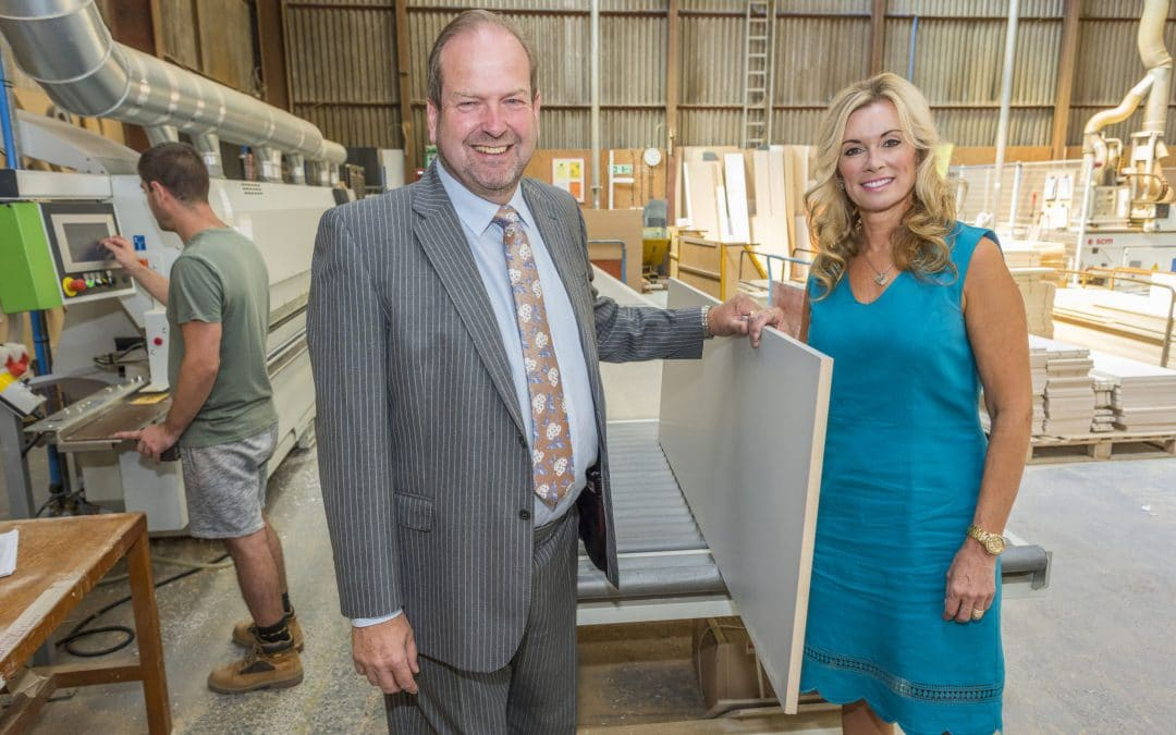 £100,000 GRANT FUNDING SUCCESS FOR WITLEY JONES FURNITURE TO FUND NEW PREMISES THANKS TO CENTRAL FINANCE