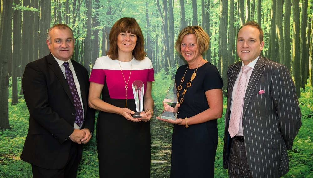 Fortis Living give first glimpse of this year's Worcestershire Apprenticeship Awards trophies