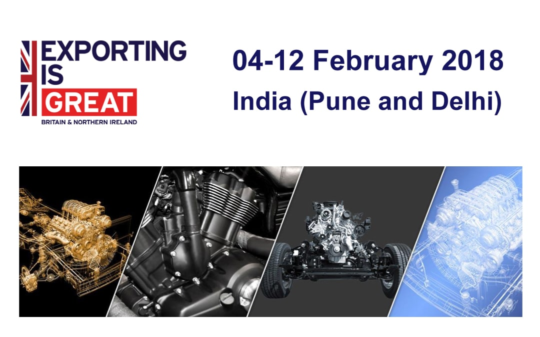 Midlands Engine Trade Visit: Auto Expo 2018