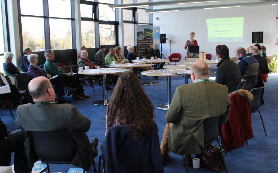 WORCESTERSHIRE BUSINESS CENTRAL  AGRI-TECH ROUNDTABLE PROVES FRUTIFUL