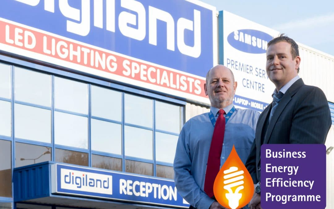 Energy Efficiency cuts energy bills at Digiland by £10,000