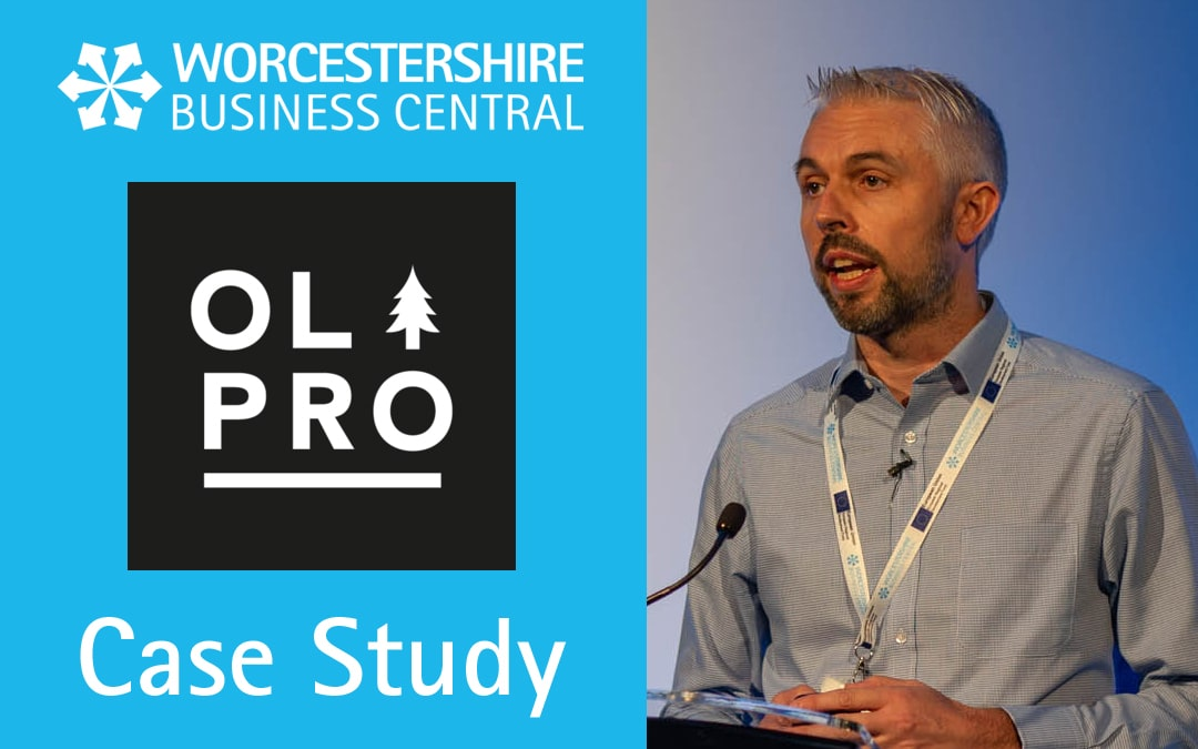 Worcestershire Business Central Support Leads to Business Growth for OLPRO