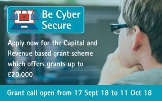 Grow Your Business with the Be Cyber Secure Grant Call