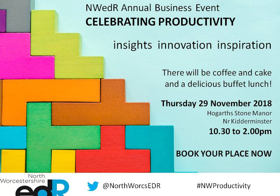 Join us to Celebrate Productivity!