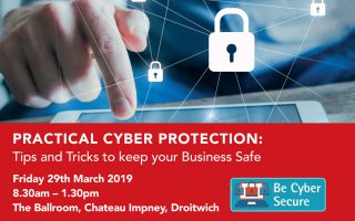 Worcestershire businesses to be offered practical cyber protection tips