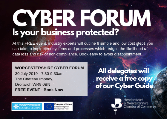 Worcestershire Cyber Forum Event