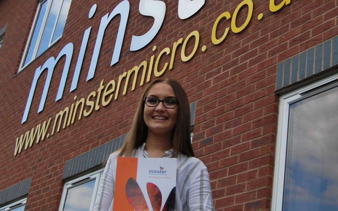 Growth as county IT firm hires marketing apprentice