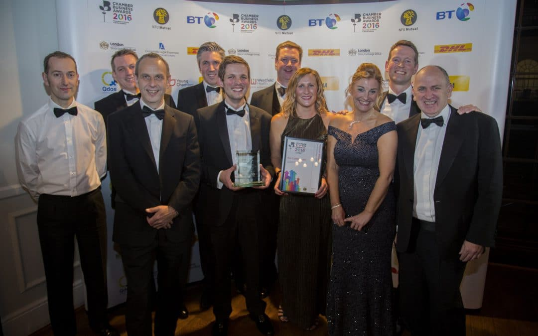 BEE Lighting Win Best British Small Business of the Year 2016