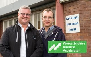 WBA support received by Industrial Switchgear ltd has injected a huge confidence boost into the company