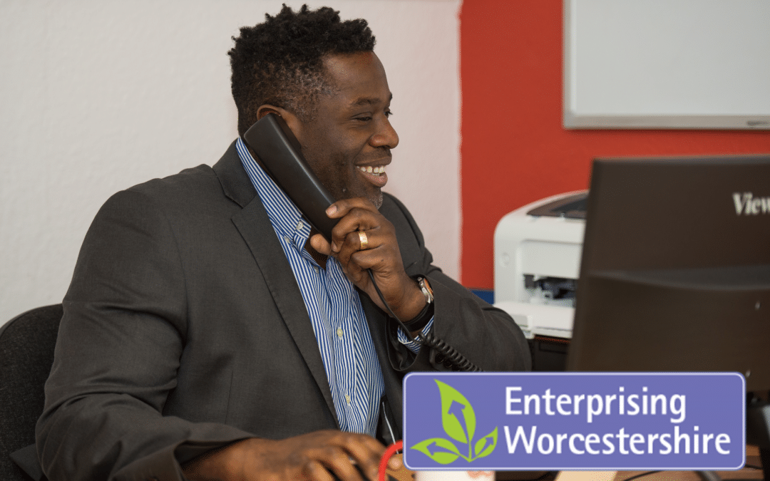Baxter Williams praises Enterprising Worcestershire support for helping to shape them into a thriving business