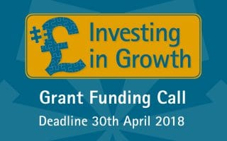 Open Call for the Investing in Growth Grant Fund