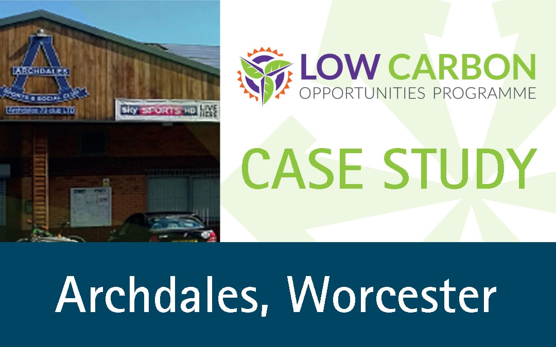 Archdales, Worcester Benefit from Solar PV Installation
