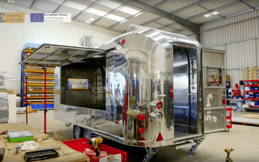 Worcestershire manufacturers Rocket Caravans Ltd thanks Investing In Growth for improving efficiency