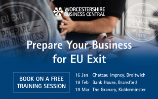Prepare Your Business for EU Exit at FREE Training Events