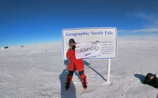 Jubilant South Pole Explorer Back Home in the Midlands
