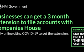 Companies to receive 3-month extension period to file accounts during COVID-19