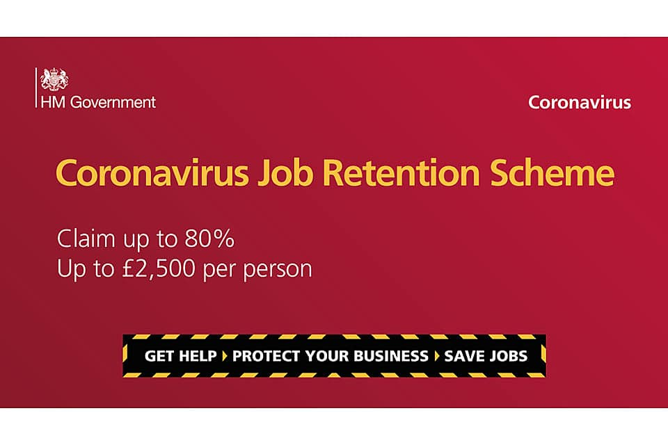 APPLY NOW – CORONAVIRUS JOB RETENTION SCHEME EXTENDED