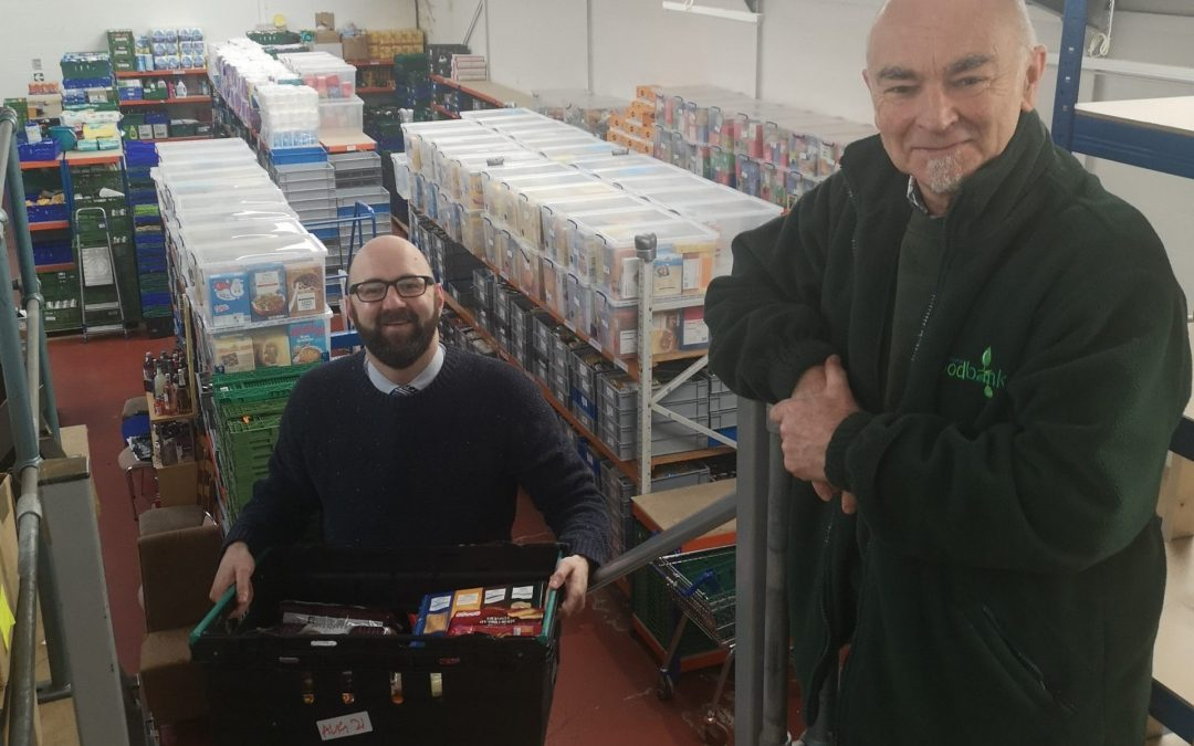City law firm donates £1,000 to support Worcester Foodbank