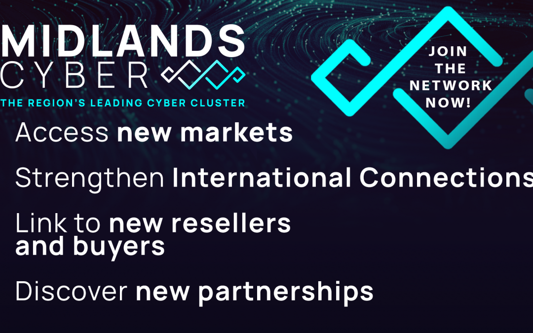 National Cyber Security Show – NEC debut for Midlands Leading Cyber Cluster