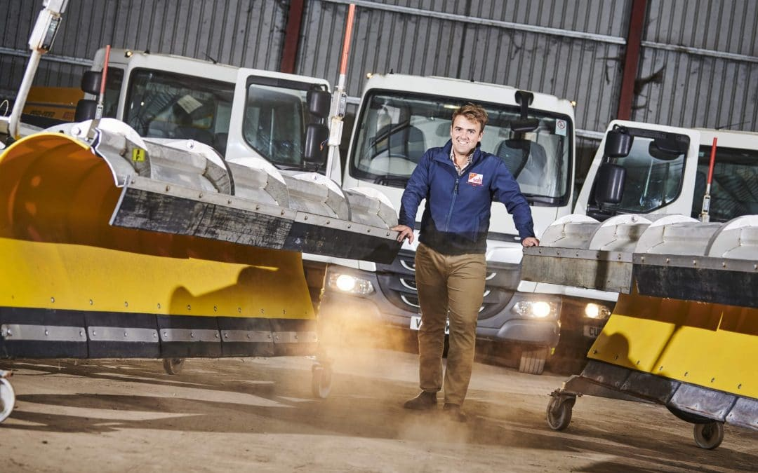 Snow clearance firm invests six-figure sum to boost business